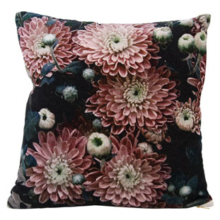 CUSHION COVER 45X45CM FLORA PINK