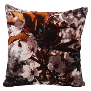 CUSHION COVER 45X45CM ANEMONE RUST