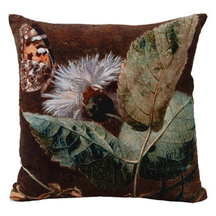 CUSHION COVER 45X45CM LILLIANA BROWN
