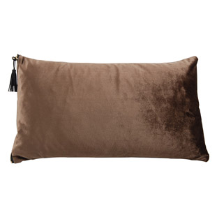 CUSHION COVER MADIERA 30X50CM BROWN