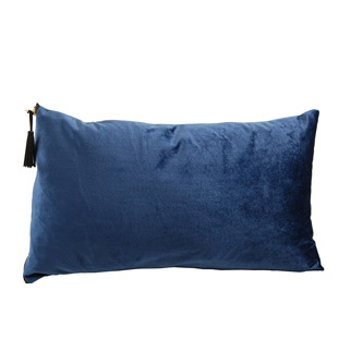 CUSHION COVER MADIERA 30X50CM DEEP BLUE