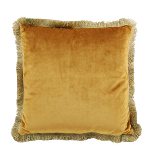 CUSHION COVER ANTOINETTE 45X45CM YELLOW