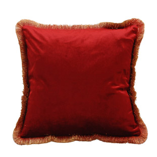 CUSHION COVER ANTOINETTE 45X45CM RED