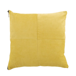 CUSHION COVER MANCHESTER 45X45CM YELLOW