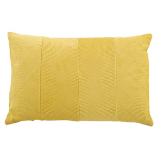 CUSHION COVER MANCHESTER 40X60CM YELLOW