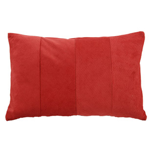 CUSHION COVER MANCHESTER 40X60CM RED