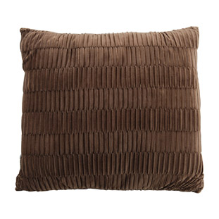 CUSHION COVER BOLTON 45X45CM BROWN