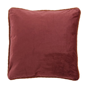 CUSHION COVER ADINE 45X45CM WINE