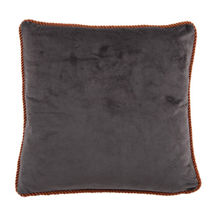 CUSHION COVER ADINE 45X45CM GREY