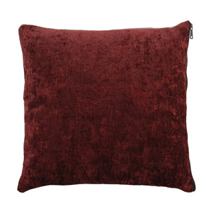CUSHION COVER FLIPSY 45X45CM BURGUNDY/BROWN