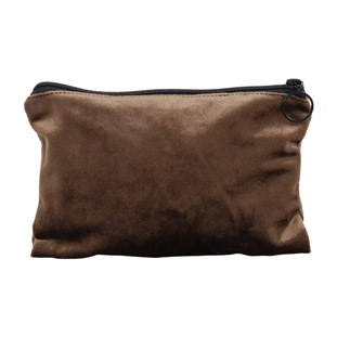 SMALL JEWELRY BAG BROWN