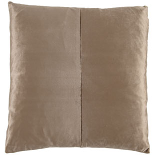 CUSHION COVER SHINE 45X45CM TAUPE