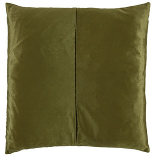 CUSHION COVER SHINE 45X45CM DARK GREEN