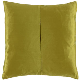 CUSHION COVER SHINE 45X45CM LIGHT GREEN