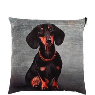 CUSHION COVER  DACHSHUND