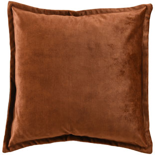 CUSHION COVER ALEGRA 50X50CM BRONZE