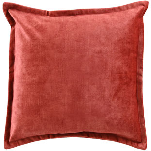 CUSHION COVER ALEGRA 50X50CM RED