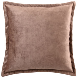 CUSHION COVER ALEGRA 50X50CM LIGHT BROWN
