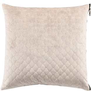 CUSHION COVER ALEGRA QUILTED 45X45CM BEIGE