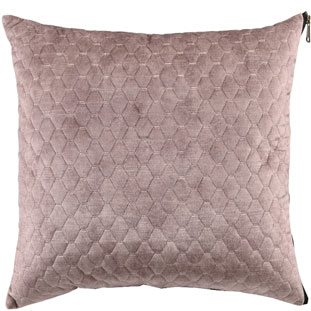 CUSHION COVER ALEGRA QUILTED 45X45CM CREAM