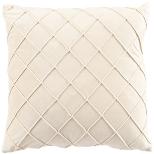 CUSHION COVER XANDER 45X45CM CREAM