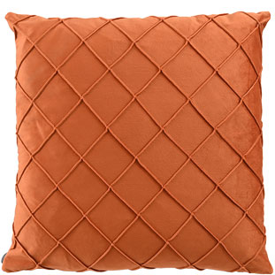 CUSHION COVER XANDER 45X45CM ORANGE