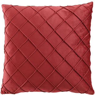 CUSHION COVER XANDER 45X45CM BURGUNDY