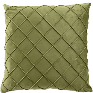 CUSHION COVER XANDER 45X45CM MOSS GREEN