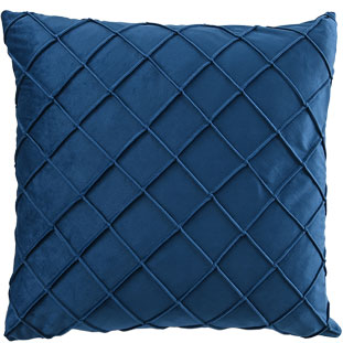 CUSHION COVER XANDER 45X45CM BLUE