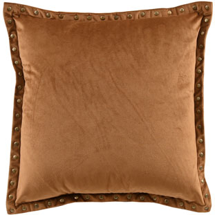CUSHION COVER LEVI 45X45CM CAMEL