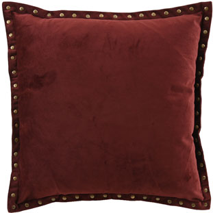 CUSHION COVER LEVI 45X45CM BURGUNDY