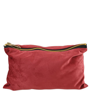 JEWELRY BAG SCARLETT BURGUNDY