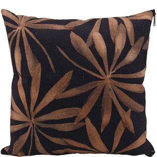 CUSHION COVER GOLDEN LEAVES 45X45CM