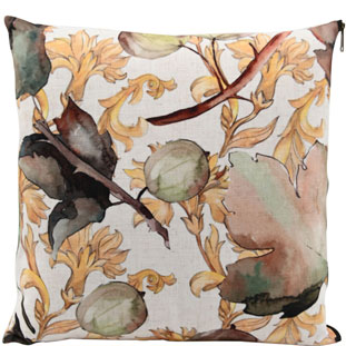 CUSHION COVER GOLDEN MAPLE 45X45CM