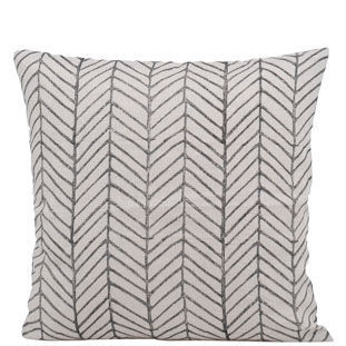 CUSHION COVER FISHBONE 50X50