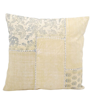 CUSHION COVER PATCH 50X50 GUL