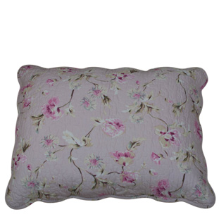 CUSHION COVER FLORA 50X60 DUSTY PINK