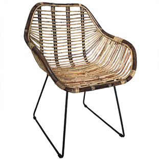 CHAIR RATTAN LARGE