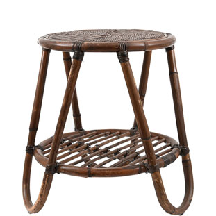 SIDETABLE COLONIAL D40H50CM