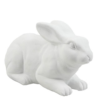 STATUE LAYING RABBIT
