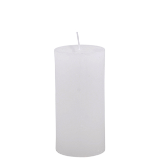 CANDLE 6X12CM WHITE 46HR