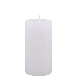 CANDLE 7X13CM WHITE