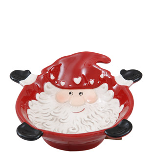 BOWL SANTA RED SMALL