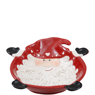 BOWL SANTA RED LARGE