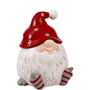 JAR SANTA NISSE WHITE SMALL