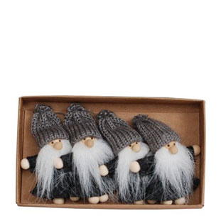 TOMTE KNITTED 4/ASK GREY