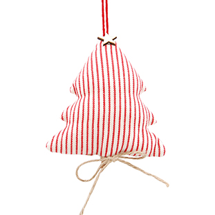 FABRIC CHRISTMAS TREE WITH CINNAMON