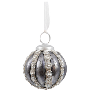 HANGING DECORATION BALL YVETTE