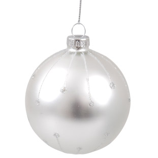 ORNAMENT DOTS SILVER