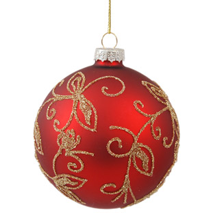 ORNAMENT SPIRIT RED